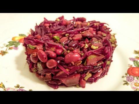 Фото рецепт вкусного салата из свеклы