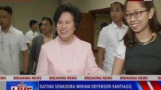 NTVL: Dating senadora Miriam Defensor-Santiago, pumanaw na sa edad na 71