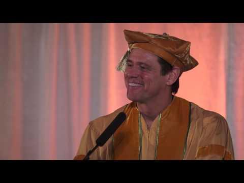 Full Speech: Jim Carrey's Commencement Address at the 2014 MUM Graduation  (En, Fr, Es, Ru, El, Sl)