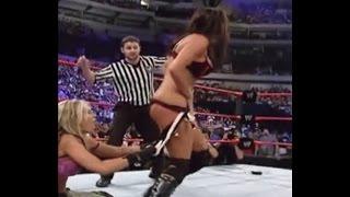 Bra & Panty Removal Matches - WWE Rare Match - WWE Divas
