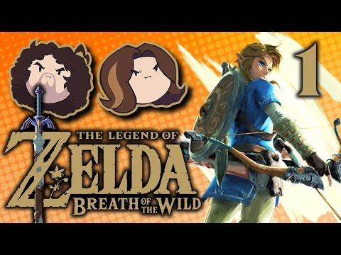 Breath of the Wild Shirtless Hero PART 1 Game Grumps