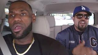 LeBron James & Ice Cube Rap to