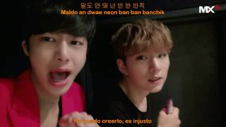 Monsta X - 반칙이야 (That's A Foul / Unfair Love) - [Sub Españo l+ Hangul + Romanizado] Self-Cam MV