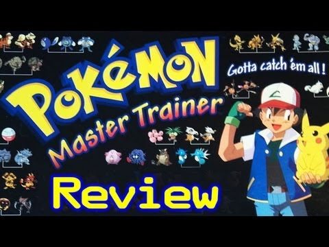 Pokémon Master Trainer Board Game Review