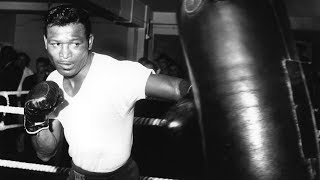 VINTAGE SUGAR RAY ROBINSON TRAINING AND FIGHT FOOTAGE THE BEST OF SUGAR RAY ROBINSON