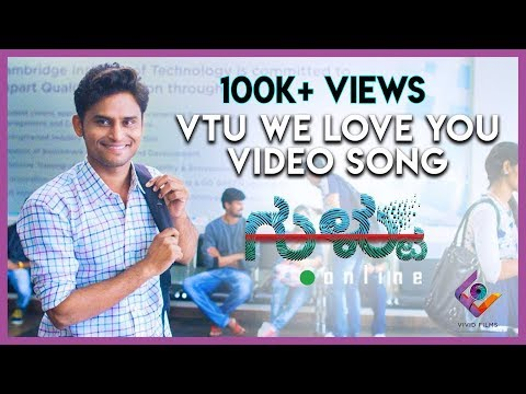 Xxx Mp4 Gultoo VTU We Love You Video Song Amit Anand Raghu Dixit Naveen Shankar Janardhan Chikkanna 3gp Sex