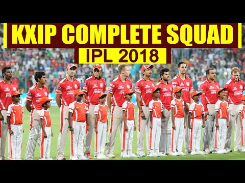 Xxx Mp4 IPL Auction 2018 KXIP Team 2018 Kings XI Punjab COMPLETE SQUAD With Price वनइंडिया हिंदी 3gp Sex