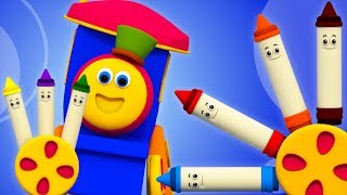 How Colors Mix   Learning Street With Bob   Learning Videos For Toddler  Children Video by Kids Tv