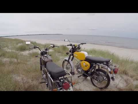 Simson Ostsee Tour / OKF / Wheelies / 85ccm / 2Takt [HD]