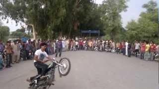 Malik Heera Okara wheelie
