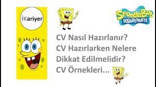 CV Nasıl hazırlanır? CV