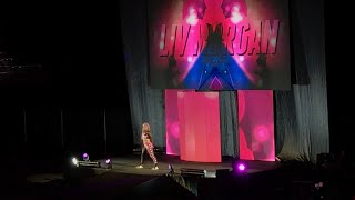 "WWE Liv Morgan OFFICIAL Theme Song ""Livin Large""- Video from WWE house show"