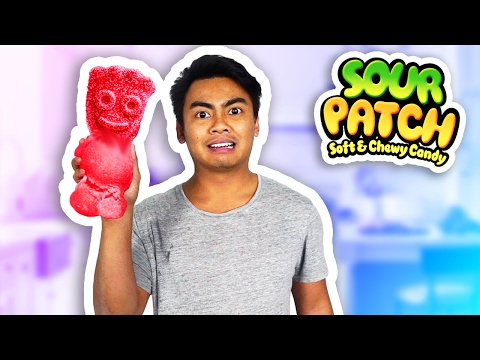 DIY How To Make Giant Sour Patch Kids
