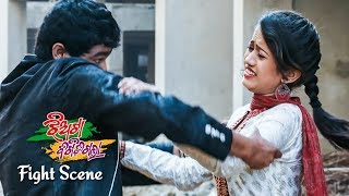 New Odia Film - Jhaitaa Bigidi Galaa   Best Action Scene - To Kama Ta Mun Sari Die   Sarthak Music
