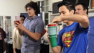 Movin' On Up | Team Game With Cups (Minute to Win It)