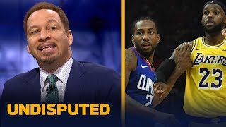 Lakers and Clippers are 'head and shoulders above everybody else' — Broussard | NBA | UNDISPUTED