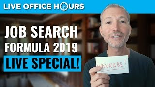 Job Search Formula 2019: Live Office Hours with Andrew LaCivita