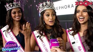 Miss India 2018 Winner & Runners-Up Talk About Winning The Title & Their Dream
