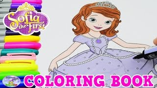 Disney Coloring Book Princess Sofia The First Episode Surprise Egg and Toy Collector SETC