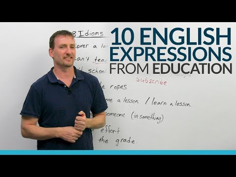 Xxx Mp4 10 Common English Idioms Expressions From Education 3gp Sex