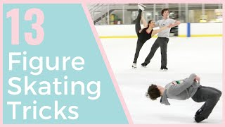 13 FUN FIGURE SKATING TRICKS YOU MUST TRY! | Coach Michelle Hong