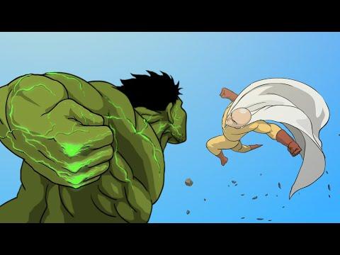 Hulk Vs. Saitama Full Version Taming The Beast