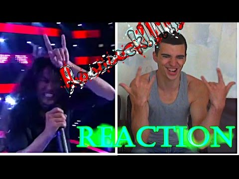 The Voice Thailand - ไนท์ วิทวัส - Highway to Hell - 18 Sep 2016 || STORMY RUSSIAN REACTION