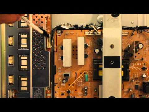 """How To Repair 40"""" Sony LCD TV With 4 Blinks"""