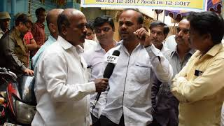 siddham baza,sawarnakarna society. people has closed their shops