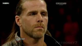 WWE 2010 Raw (Español) - The Undertaker y Shawn Michaels cara a cara (2/2)