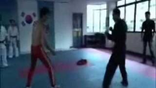 BRUCE LEE vs. The Genius Tae Kwon Do Master