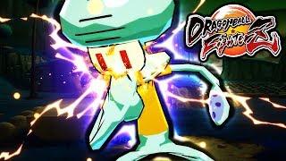Dragon Ball FighterZ PC Mods: Squidward Mod Gameplay (Team Spongebob Squarepants Mod FighterZ)