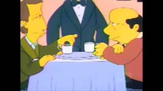 The Simpsons - My Dinner With Andre
