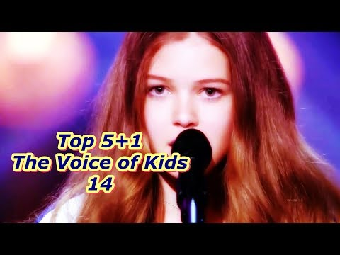 Top 5+1 - The Voice of Kids 14