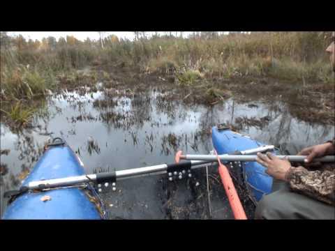 лодочный мотор для болота видео