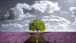 Les deux types d'innovations - Sheikh Soulayman Ar Rouhayli