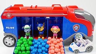 Mejores Videos para Niños Aprendiendo Colores - Patrulla de Cachorros Camion de Vigilancia
