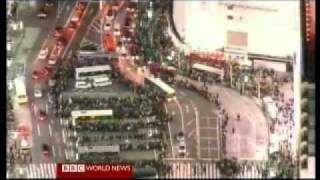 Japan 2011 Earthquake 1 - Overview - BBC World News America 11.03.2011