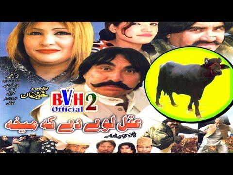 Pashto Comedy Drama - Akal Lwe De ka Mekha - ismaeel shahid best comedy drama