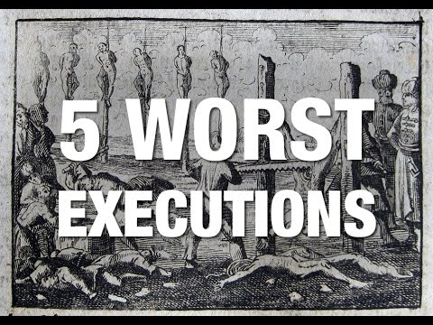 Xxx Mp4 5 WORST Executions In History 3gp Sex