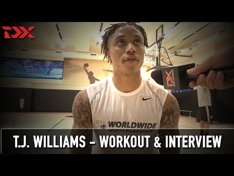 Xxx Mp4 T J Williams NBA Pre Draft Workout And Interview 3gp Sex
