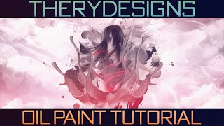 How to get Oil Paint in Photoshop CC 2014/2015 Tutorial - TheRyDesigns
