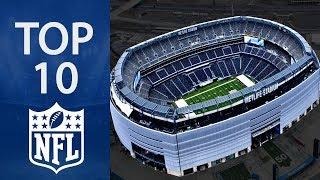 Top 10 Biggest NFL Stadiums
