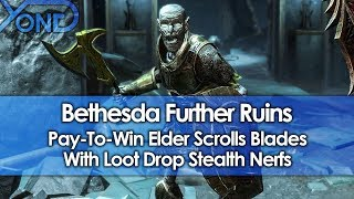 Bethesda Further Ruins Pay-To-Win Elder Scrolls Blades With Loot Drop Stealth Nerfs