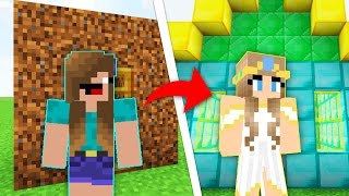 Minecraft Money WARS GIRL From Noob To PRO! 😍