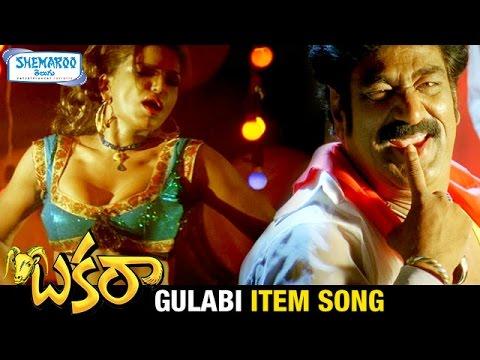 Bakara Telugu Movie Video Songs | Gulabi Item Song | Yashika | Raghu Babu | Shemaroo Telugu