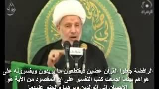 المهاجر:حملته أمه كرها ووضعته كرها يعني فاطمة والحسين