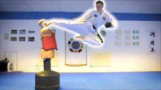 Taekwondo Kicking and Training Sampler on the BOB XL