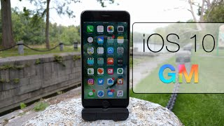 iOS 10 GM - What's New?