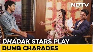 Watch! Janhvi Kapoor & Ishaan Khatter Play Dumb Charades